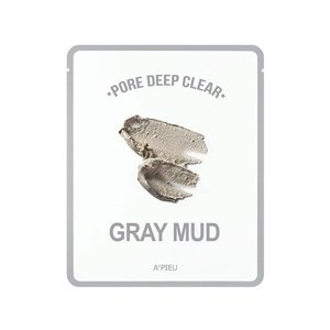 A'pieu Pore Deep Clear Gray Mud Mask Maska w płacie