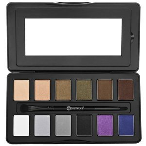 BH Cosmetics 12 Color Eyeshadow Paleta cieni Nude Rose Night Fall