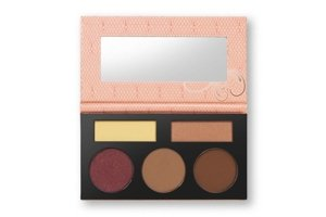 BH Cosmetics Forever Nude Sculpt&Glow Zestaw do konturowania Medium Deep