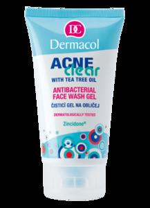 Dermacol AcneClear Antibacterial Face Wash Gel Żel do mycia twarzy 150 ml