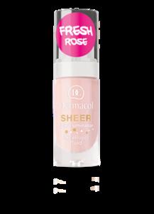 Dermacol Sheer Face Illuminator Rozświetlający podkład w płynie Fresh Rose