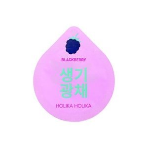 Holika Holika Superfood Capsule Pack Blackberry Całonocna maseczka Brightening