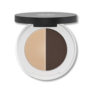 Lily Lolo Eyebrow Duo Dark - zestaw do brwi