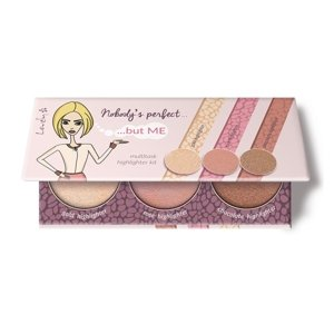 Lovely Nobody's Perfect but Me Paleta rozświetlaczy do twarzy