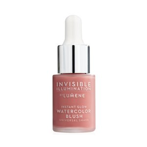 Lumene Invisible Illumination Instant Glow Watercolor Blush Róż z serum do twarzy Coral Blossom