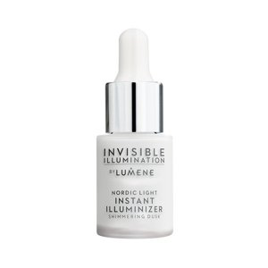 Lumene Invisible Illumination Nordic Light Instant Illuminizer Shimmering Dusk Rozświetlacz z serum