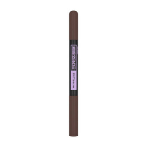 Maybelline Brow Satin Dwustronna kredka do brwi DARK BROWN