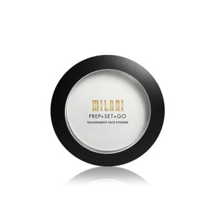 Milani PREP + SET + GO Transparent Face Powder Transparentny puder do twarzy