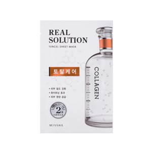 Missha Real Solution Tencel Sheet Mask Collagen - Total Care Maseczka do twarzy w płacie