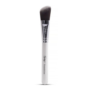 Nanshy Flat Foundation Brush White Pędzel do podkładu