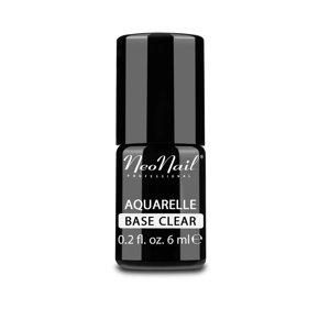NeoNail Aquarelle Lakier hybrydowy Aquarelle Base Clear 6 ml