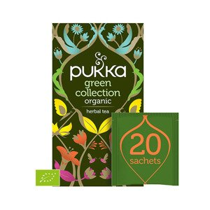 Pukka Herbata Green Collection