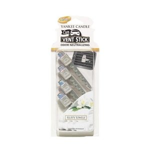 Yankee Candle CAR Vent Stick Fluffy Towels