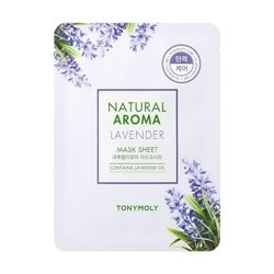 Tony Moly Natural Aroma Mask Sheet Maska w płacie LAVENDER