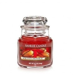 Yankee Candle ŚWIECA W SŁOIKU MAŁA Spiced Orange