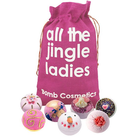 BOMB Cosmetics Zestaw upominkowy w worku All The Jingle Ladies