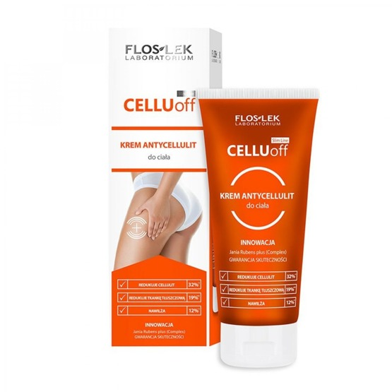 FlosLek CELLU off Krem antycellulit do ciała, 200 ml