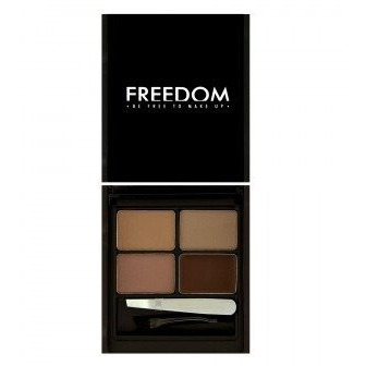 Freedom Makeup Pro Zestaw do brwi Medium-Dark