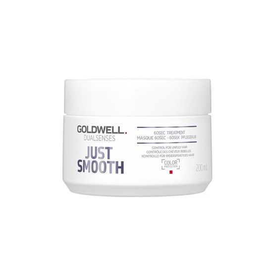 GOLDWELL Dualsenses Just Smooth 60sek Maska do włosów wygładzająca 200ml
