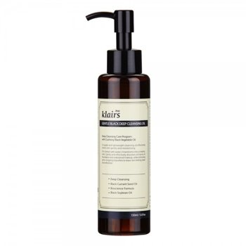 Klairs Gentle Black Deep Cleansing Oil Olejek do demakijażu twarzy 150ml