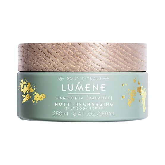 Lumene Nutri-Recharching Salt Body Scrub Torfowy peeling do ciała 250ml