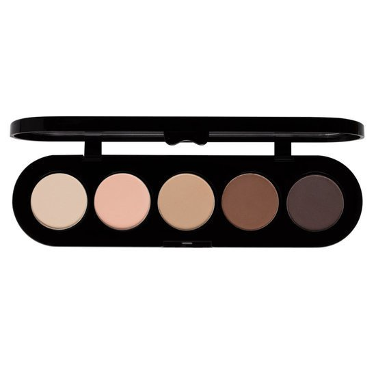 Make-up Atelier Paris Paleta 5 cieni do powiek T22 Mat 10g