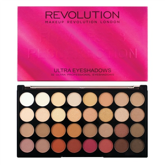 Makeup Revolution Paleta 32 cieni FLAWLESS 3 Resurrection