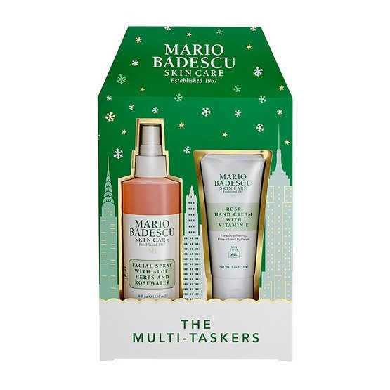 Mario Badescu The Multi-Taskers: Rose Facial Spray & Hand Cream Duo Mgiełka do twarzy + krem do rąk