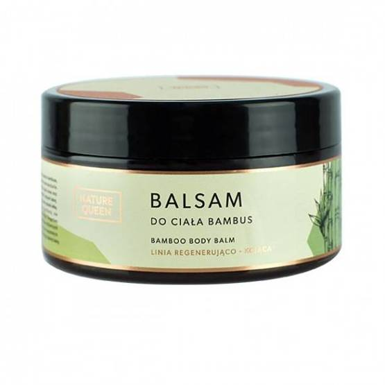 Nature Queen Balsam do ciała Bambus 200ml