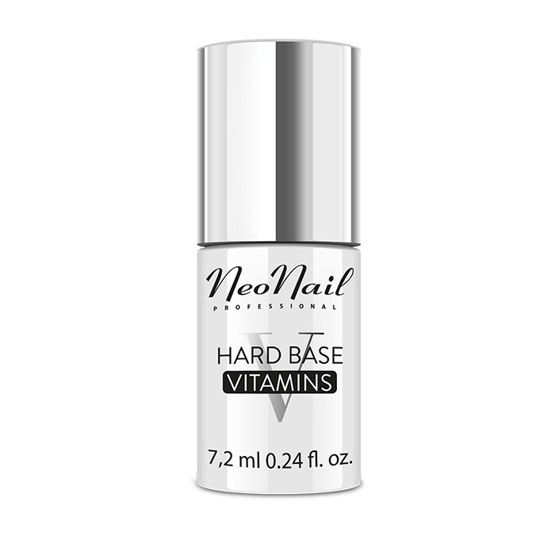 NeoNail Hard Base Vitamins Baza do manicure hybrydowego 7,2 ml