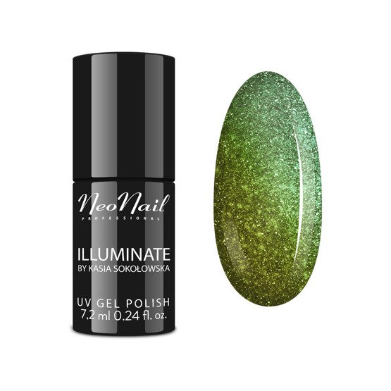 NeoNail Illuminate Lakier hybrydowy Golden Topaz 7.2ml