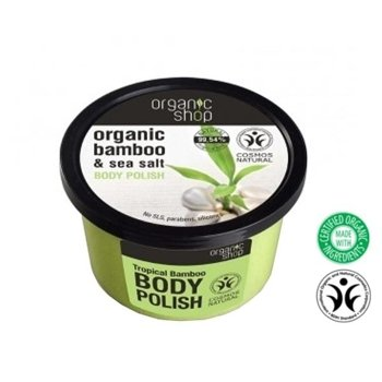 Organic Shop Peeling do ciała Bamboo&Sea Salt OS62