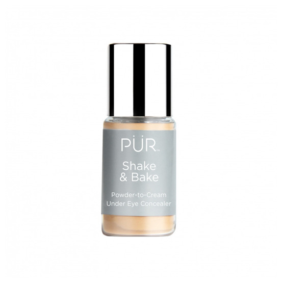 PÜR Shake & Bake Powder-to-Cream Under Eye Concealer Korektor pod oczy w pudrze MEDIUM