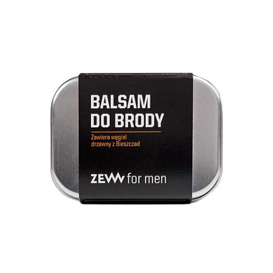 ZEW for men Balsam do brody z węglem drzewnym 80 ml