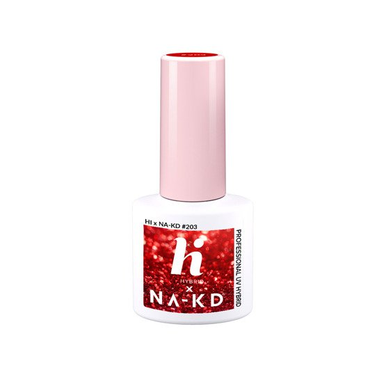 hi hybrid NAKD Lakier hybrydowy #203 Red Elements 5ml