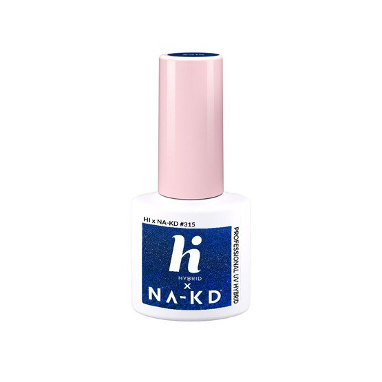 hi hybrid NAKD Lakier hybrydowy #315 Blue Elements 5ml