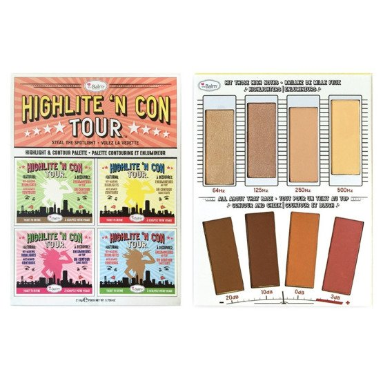 theBalm Highlite 'N Con Tour paleta do konturowania