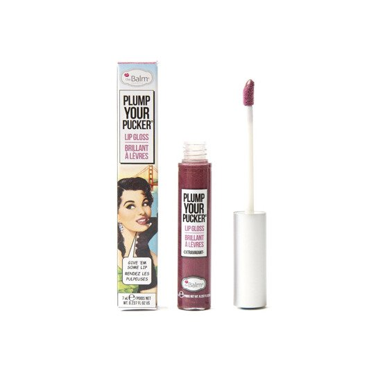theBalm Plump Your Pucker Lip Gloss Błyszczyk do ust Extravagant