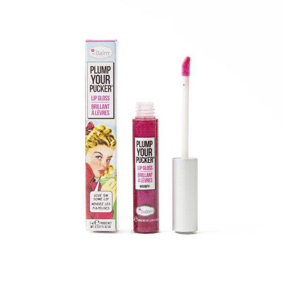 theBalm Plump Your Pucker Lip Gloss Błyszczyk do ust Magnify